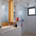 דופלקס ברמת השרון - ארונות אמבטיה