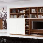 ספריה מעץ איכותית ומודרנית