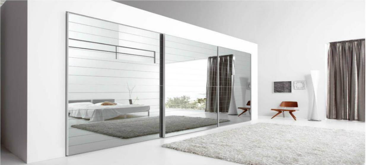 ארון הזזה דגם ברלין - דלתות מזכוכית